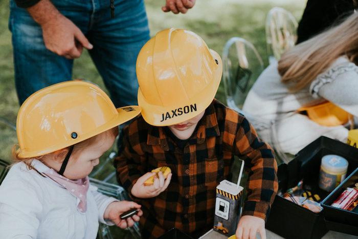 Construction Birthday Party on Kara's Party Ideas   KarasPartyIdeas.com (7)