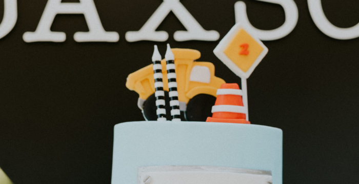 Construction Birthday Party on Kara's Party Ideas | KarasPartyIdeas.com (1)