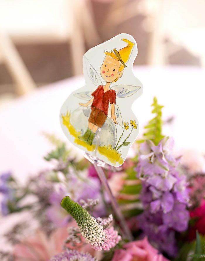 Fairy Cut-out from a Fairy Fabulous Birthday Party on Kara's Party Ideas | KarasPartyIdeas.com (30)