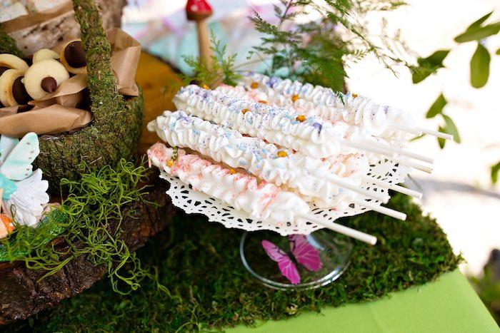 Fairy Wand Dessert Sticks from a Fairy Fabulous Birthday Party on Kara's Party Ideas | KarasPartyIdeas.com (47)