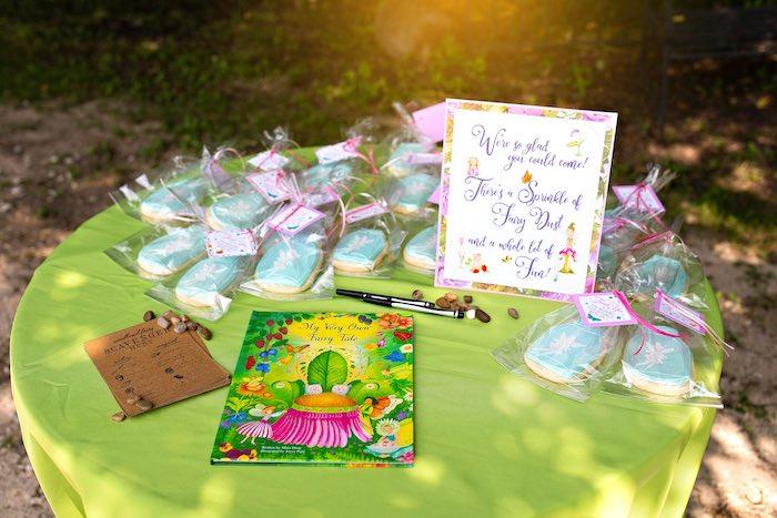 Fairy Party Favor Table from a Fairy Fabulous Birthday Party on Kara's Party Ideas | KarasPartyIdeas.com (28)