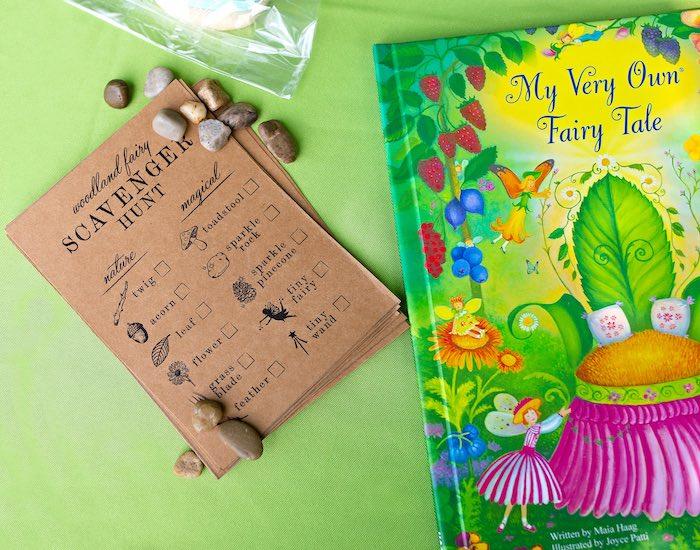 Woodland Fairy Scavenger Hunt from a Fairy Fabulous Birthday Party on Kara's Party Ideas | KarasPartyIdeas.com (27)