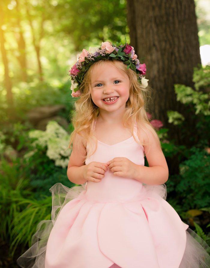 Little Fairy from a Fairy Fabulous Birthday Party on Kara's Party Ideas | KarasPartyIdeas.com (19)
