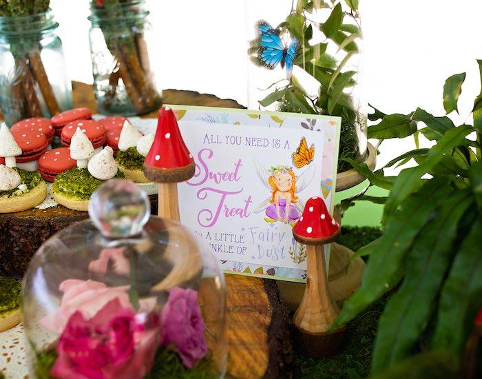 Sweet Table Signage from a Fairy Fabulous Birthday Party on Kara's Party Ideas | KarasPartyIdeas.com (41)