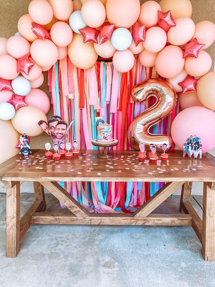 Girly NSYNC Birthday Party on Kara's Party Ideas | KarasPartyIdeas.com (10)