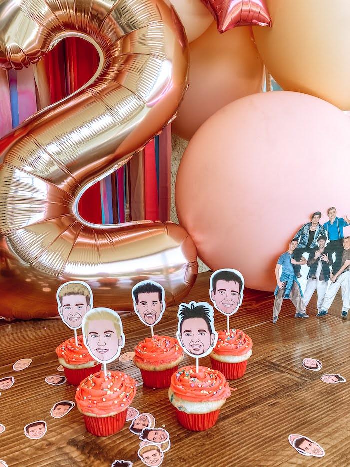 Girly NSYNC Birthday Party on Kara's Party Ideas | KarasPartyIdeas.com (8)