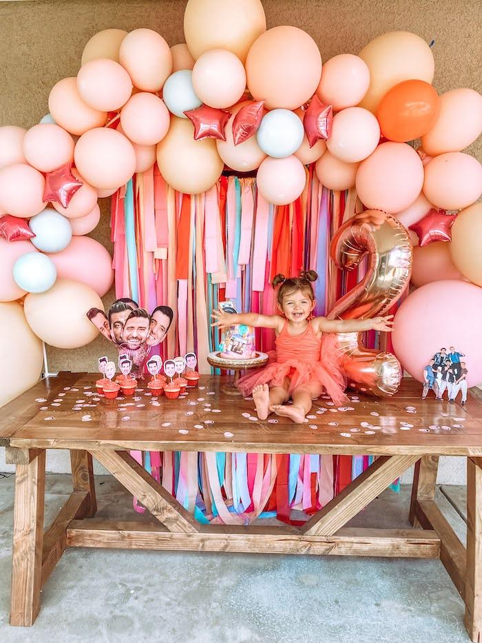 Girly NSYNC Birthday Party on Kara's Party Ideas | KarasPartyIdeas.com (6)