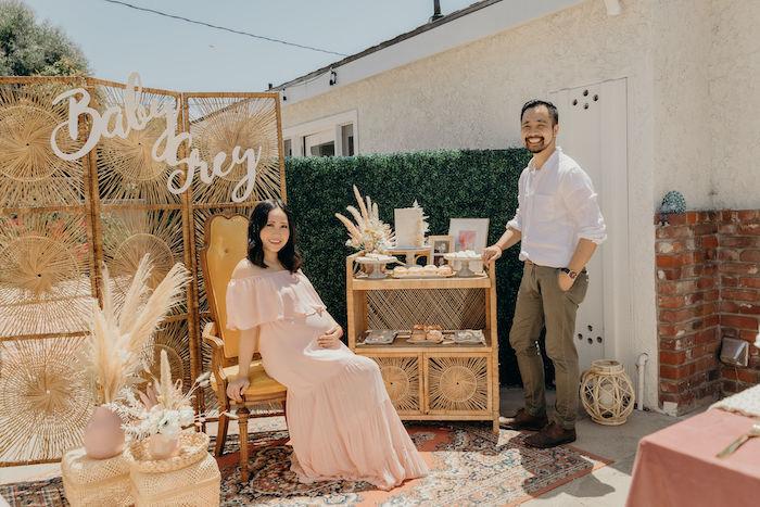 Gypsy Boho Baby Shower on Kara's Party Ideas | KarasPartyIdeas.com (19)