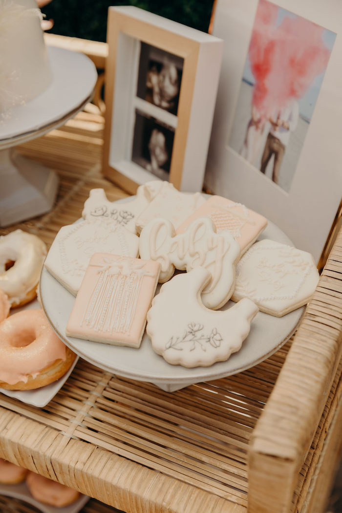 Baby Boho Cookies from a Gypsy Boho Baby Shower on Kara's Party Ideas | KarasPartyIdeas.com (13)