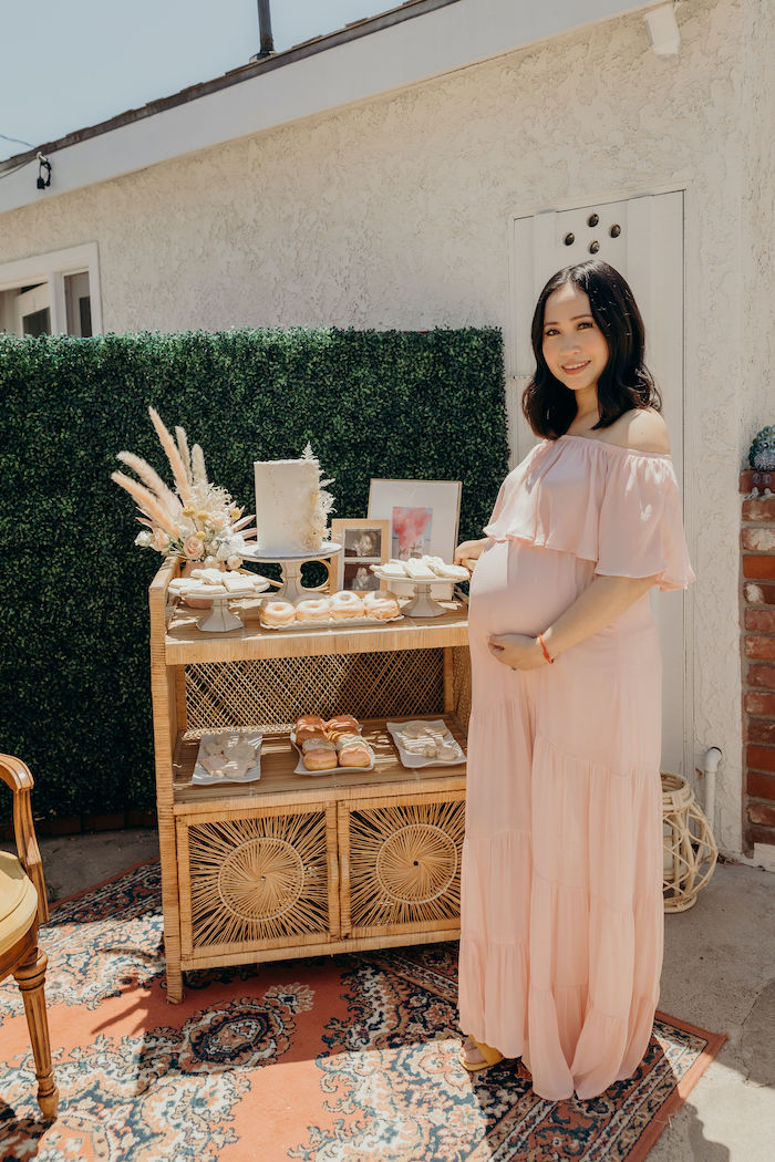 Gypsy Boho Baby Shower on Kara's Party Ideas | KarasPartyIdeas.com (7)