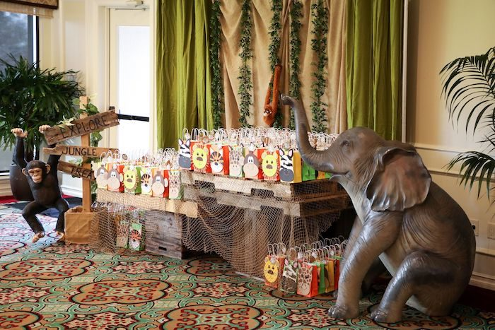 Safari Party Favors from a Jungle Safari Birthday Party on Kara's Party Ideas | KarasPartyIdeas.com (43)