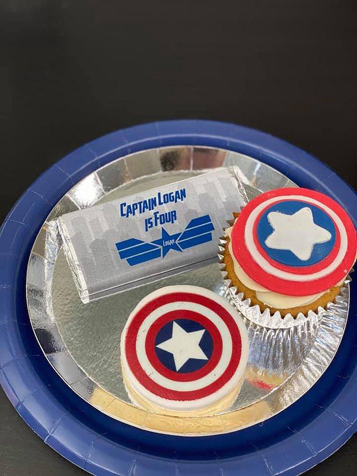 Lifelike Modern Avengers + Captain America Birthday Party on Kara's Party Ideas | KarasPartyIdeas.com (16)