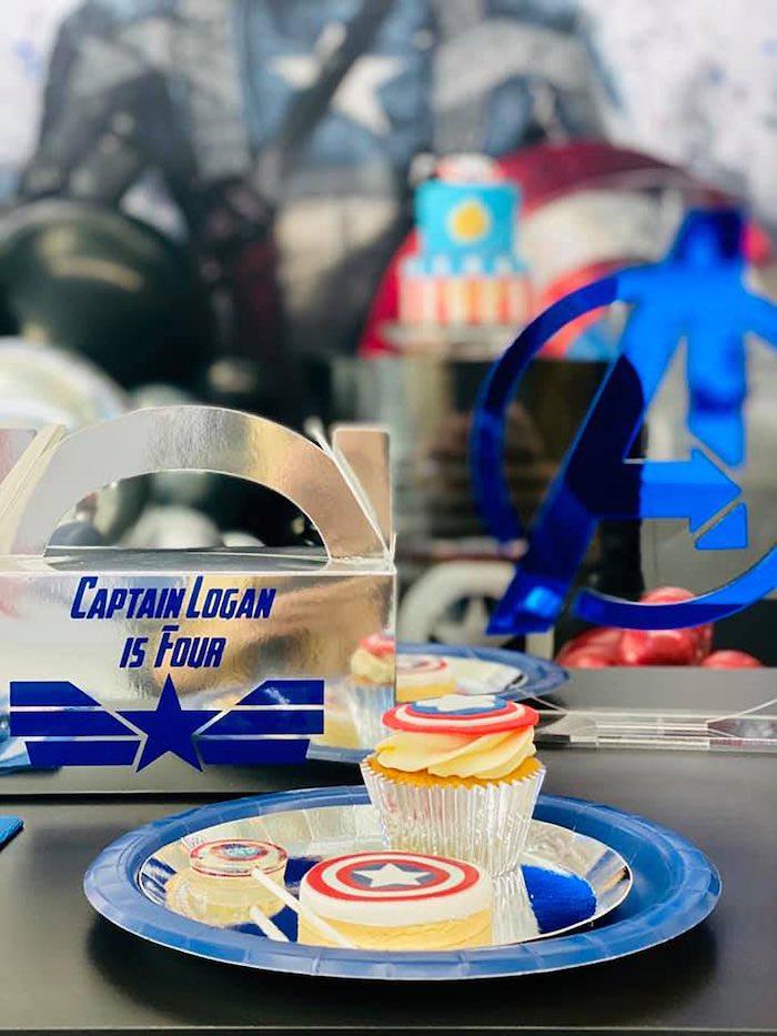 Lifelike Modern Avengers + Captain America Birthday Party on Kara's Party Ideas | KarasPartyIdeas.com (11)