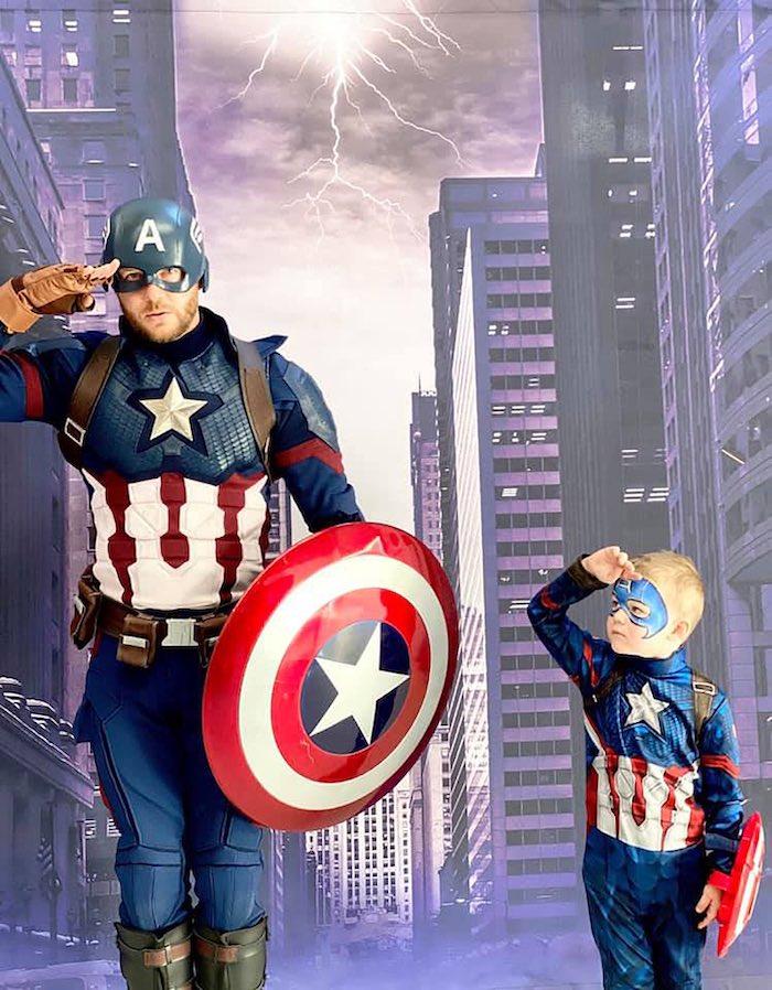 Lifelike Modern Avengers + Captain America Birthday Party on Kara's Party Ideas | KarasPartyIdeas.com (26)