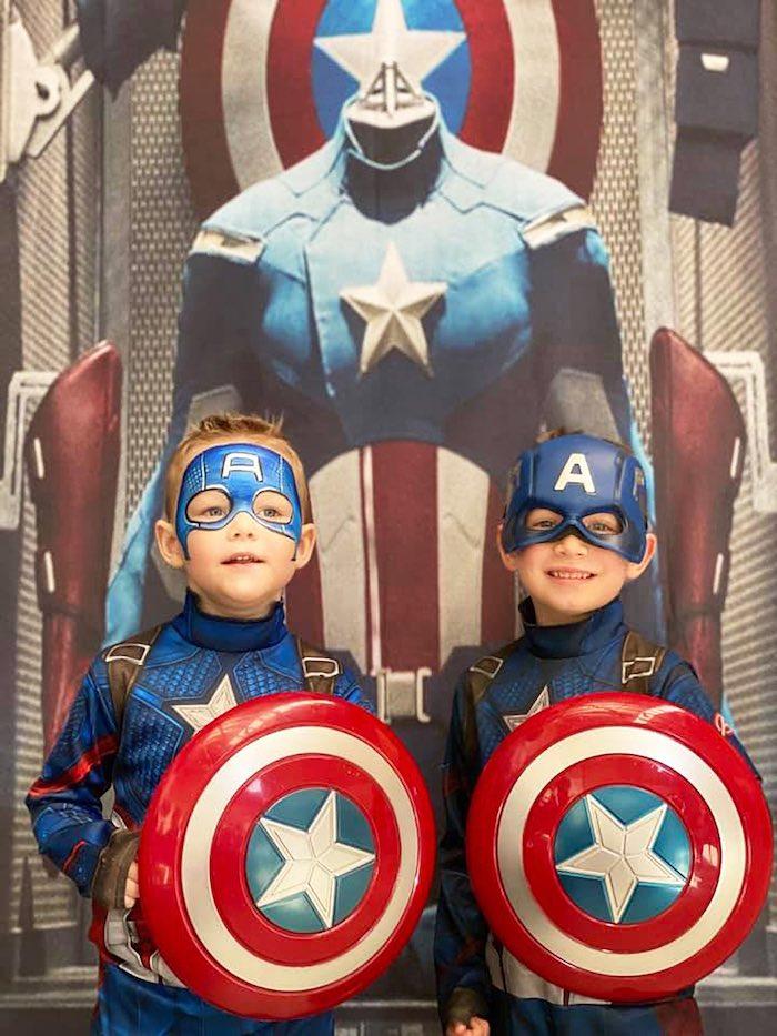 Lifelike Modern Avengers + Captain America Birthday Party on Kara's Party Ideas | KarasPartyIdeas.com (25)