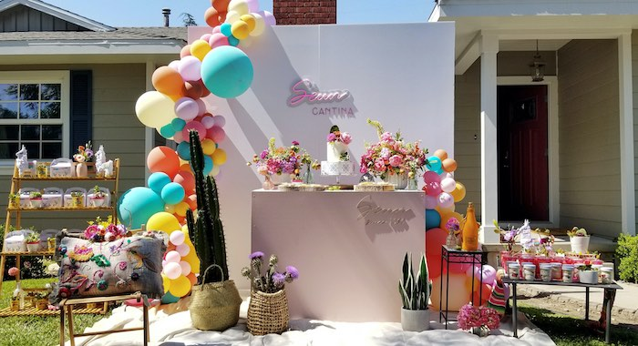 Mexican Cantina Drive-By Birthday Party on Kara's Party Ideas | KarasPartyIdeas.com (17)
