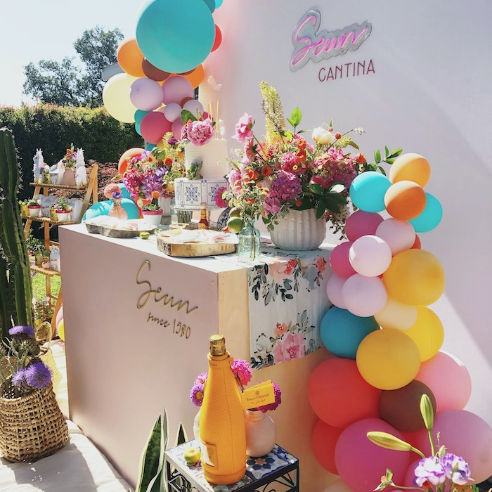 Mexican Cantina Drive-By Birthday Party on Kara's Party Ideas | KarasPartyIdeas.com (5)