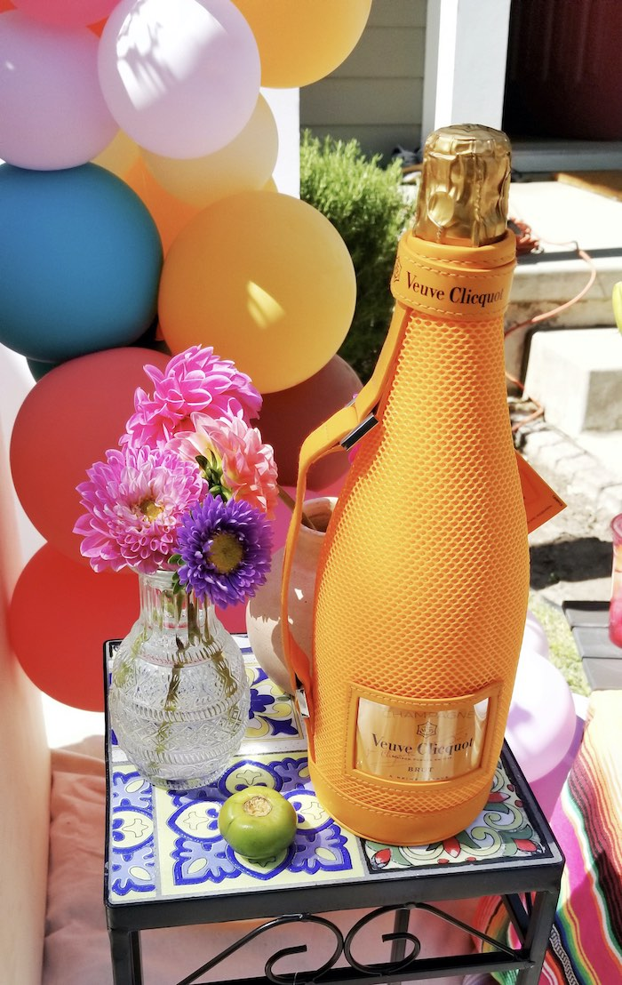 Bubbly from a Mexican Cantina Drive-By Birthday Party on Kara's Party Ideas | KarasPartyIdeas.com (19)