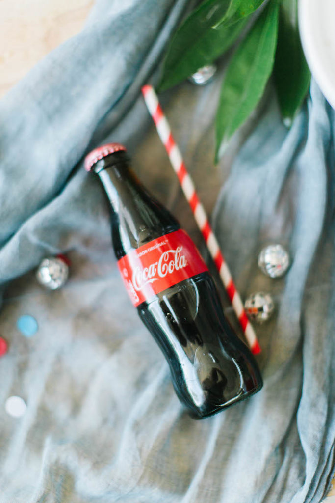 Coke Bottle from a Modern Classic July 4th Party on Kara's Party Ideas | KarasPartyIdeas.com (22)
