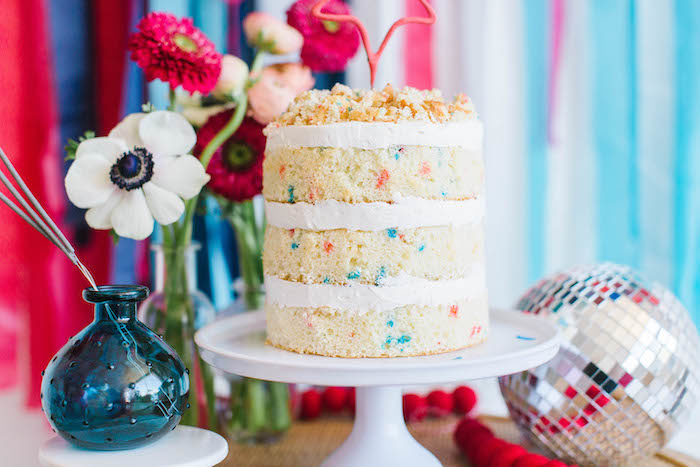 4th of July Cake from a Modern Classic July 4th Party on Kara's Party Ideas | KarasPartyIdeas.com (9)