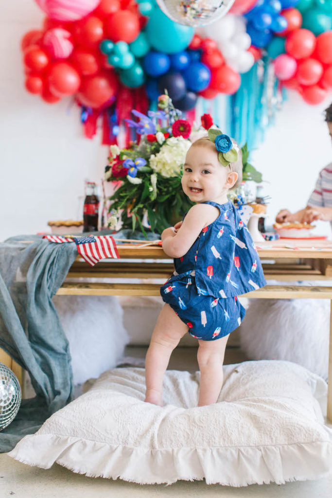 Modern Classic July 4th Party on Kara's Party Ideas | KarasPartyIdeas.com (2)