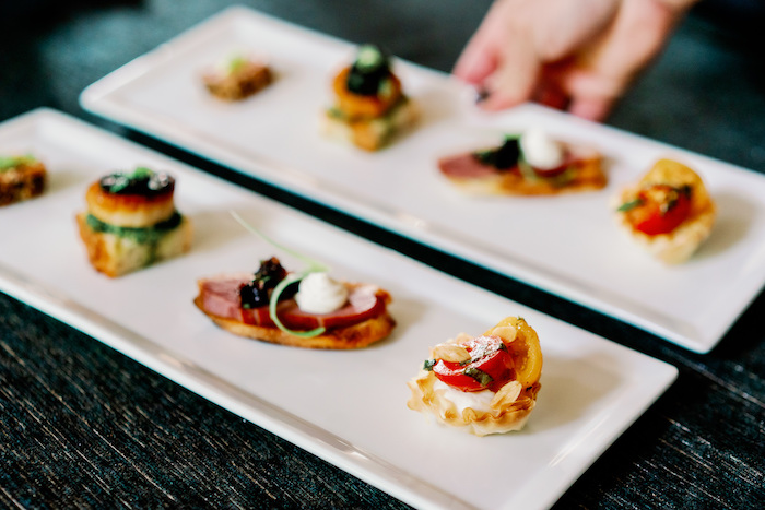 Appetizers from a Modern Graduation Drive-By + Family Dinner on Kara's Party Ideas | KarasPartyIdeas.com (18)