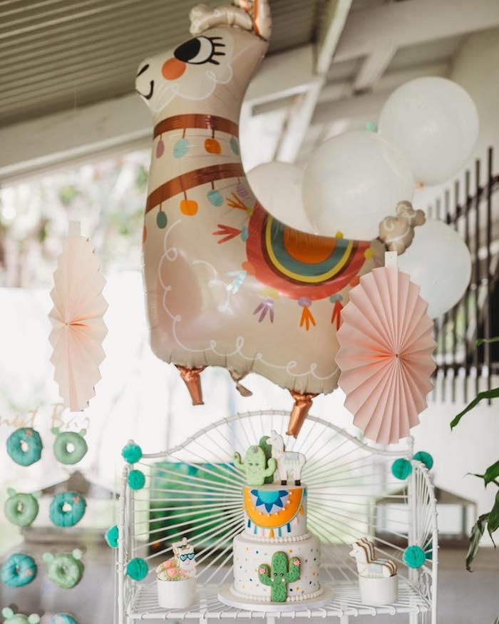 No Llama Drama Birthday Party on Kara's Party Ideas | KarasPartyIdeas.com (8)