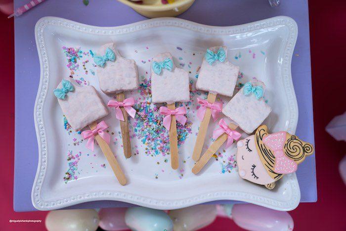 Ice Cream Rice Krispie Treat Pops from a Pastel Ice Cream Soiree on Kara's Party Ideas   KarasPartyIdeas.com (26)