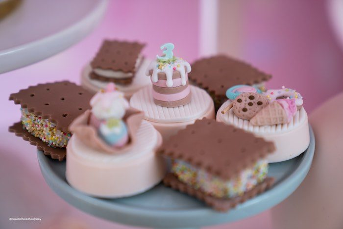 Ice Cream Themed Oreos + Dessert Sandwiches from a Pastel Ice Cream Soiree on Kara's Party Ideas   KarasPartyIdeas.com (32)