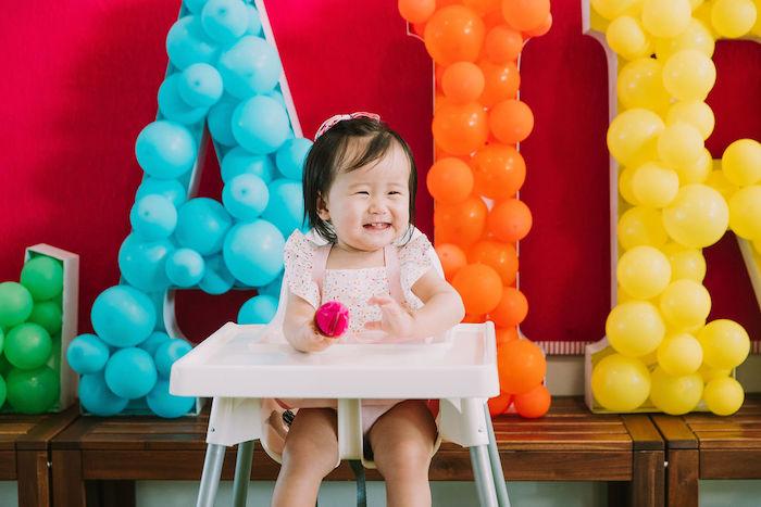 Rainbow Ice Cream Party on Kara's Party Ideas | KarasPartyIdeas.com (41)