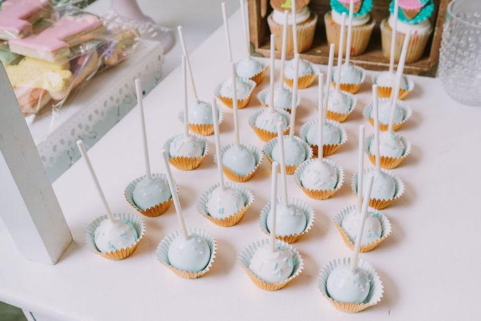 Cake Pops from a Rainbow Ice Cream Party on Kara's Party Ideas | KarasPartyIdeas.com (7)