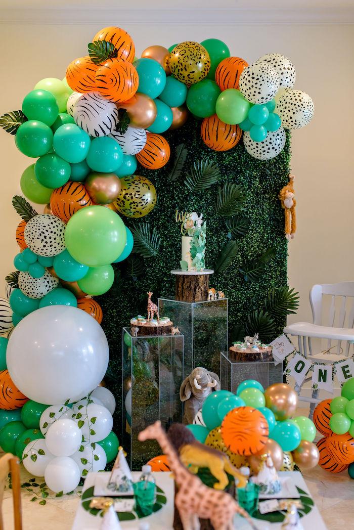 Wild One Safari Birthday Party on Kara's Party Ideas | KarasPartyIdeas.com (7)