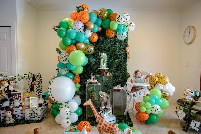 Wild One Safari Birthday Party on Kara's Party Ideas | KarasPartyIdeas.com (29)