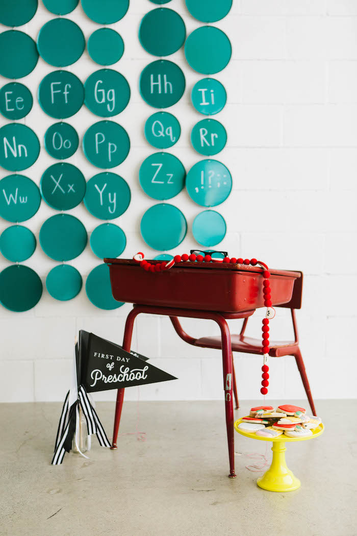 Desk Prop from a Back to School Party on Kara's Party Ideas | KarasPartyIdeas.com (53)