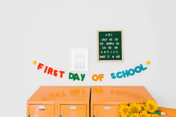 Decor from a Back to School Party on Kara's Party Ideas | KarasPartyIdeas.com (52)