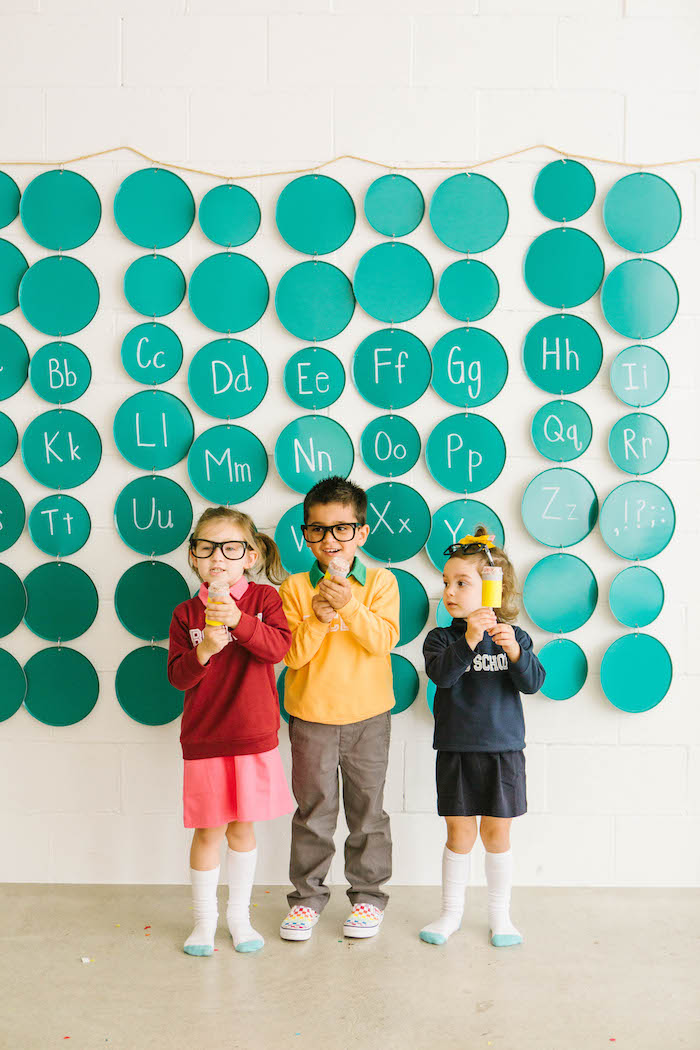 Back to School Party on Kara's Party Ideas | KarasPartyIdeas.com (14)