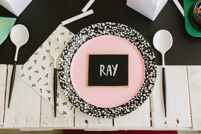 Back to School-inspired Table Setting from a Back to School Party on Kara's Party Ideas | KarasPartyIdeas.com (71)