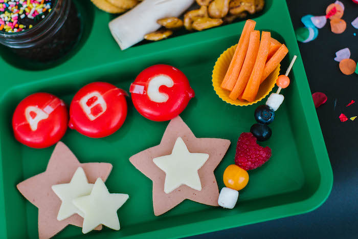 Back to School Lunch Tray from a Back to School Party on Kara's Party Ideas | KarasPartyIdeas.com (69)