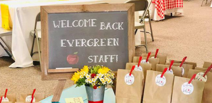 Back to School Teacher & Staff Luncheon on Kara's Party Ideas   KarasPartyIdeas.com (1)