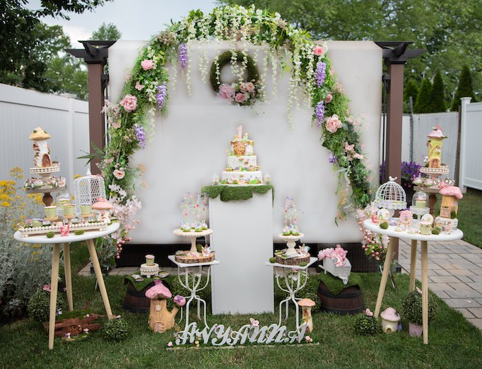 Fairy Garden Birthday Party on Kara's Party Ideas | KarasPartyIdeas.com (9)