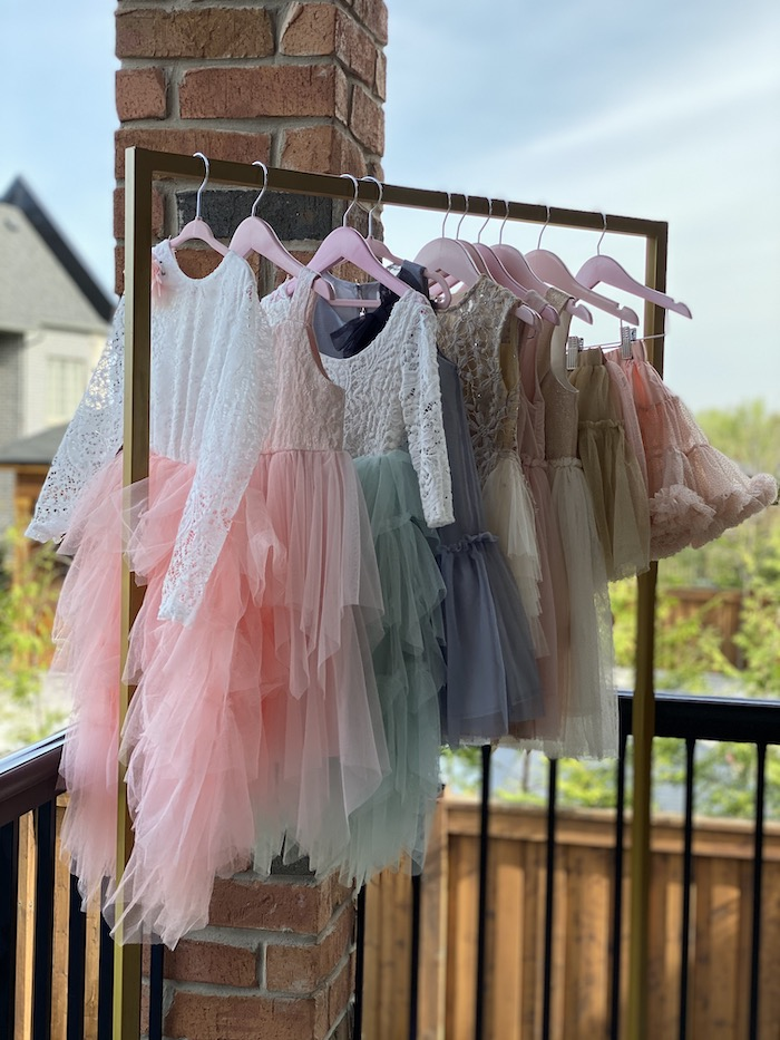 Frills and Dresses from a Fancy Flower Garden Birthday Party on Kara's Party Ideas | KarasPartyIdeas.com (16)