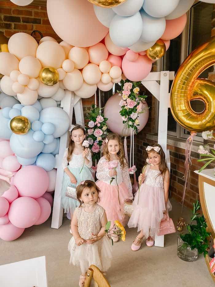 Fancy Flower Garden Birthday Party on Kara's Party Ideas | KarasPartyIdeas.com (14)