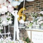 Fancy Flower Garden Birthday Party on Kara's Party Ideas | KarasPartyIdeas.com