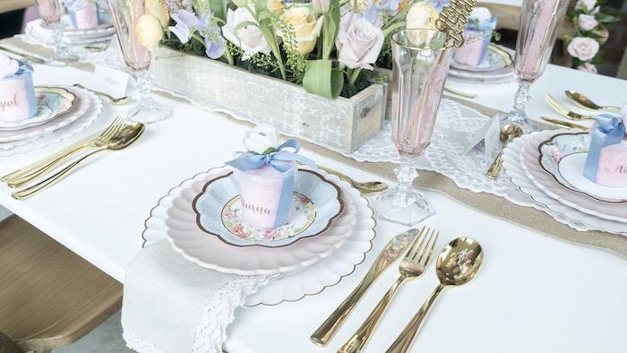 Fancy Flower Garden Birthday Party on Kara's Party Ideas | KarasPartyIdeas.com (29)