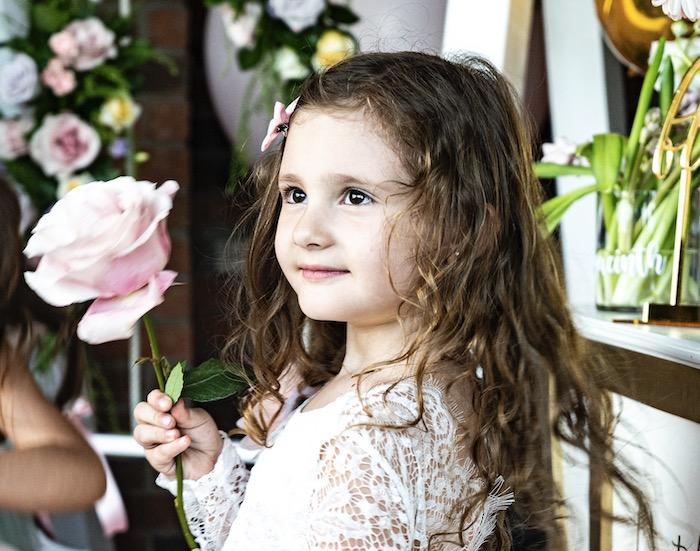 Fancy Flower Garden Birthday Party on Kara's Party Ideas | KarasPartyIdeas.com (25)