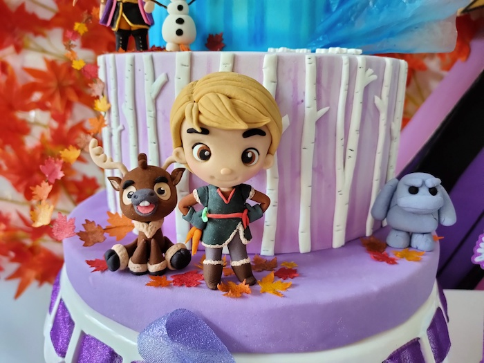 Frozen 2 Cake - Kristoff from a Frozen 2 Birthday Party on Kara's Party Ideas | KarasPartyIdeas.com (12)