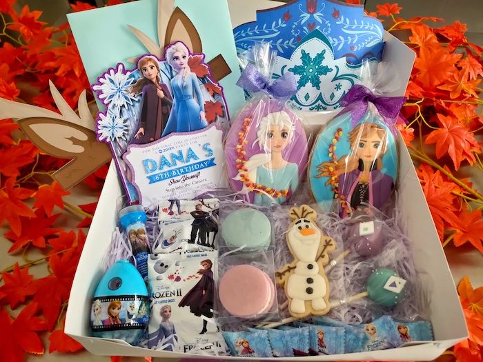 Frozen 2-inspired Treat Box from a Frozen 2 Birthday Party on Kara's Party Ideas | KarasPartyIdeas.com (28)