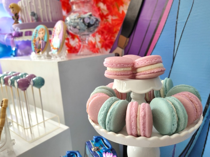 Macarons from a Frozen 2 Birthday Party on Kara's Party Ideas | KarasPartyIdeas.com (26)