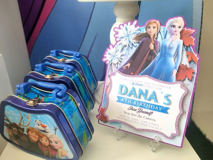 Frozen 2 Party Invite from a Frozen 2 Birthday Party on Kara's Party Ideas | KarasPartyIdeas.com (25)