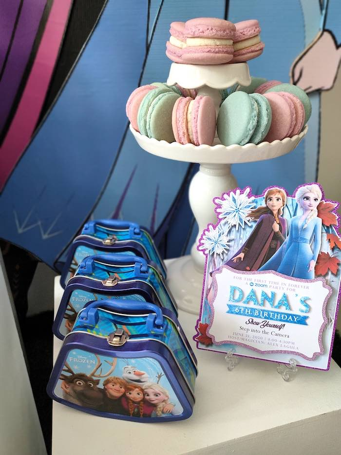Frozen 2 Party Invite from a Frozen 2 Birthday Party on Kara's Party Ideas | KarasPartyIdeas.com (24)